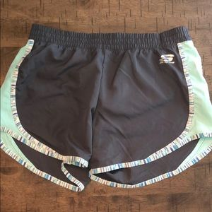 Sketchers Gray and Patterned Shorts